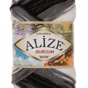 Fir de tricotat sau crosetat - Fir ACRILIC ALIZE BURCUM BATIK DEGRADE 4428