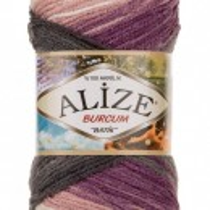 Fir de tricotat sau crosetat - Fir ACRILIC ALIZE BURCUM BATIK DEGRADE 1986