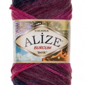 Fir de tricotat sau crosetat - Fir ACRILIC ALIZE BURCUM BATIK DEGRADE 6327