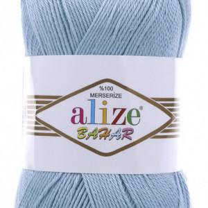 Fir de tricotat sau crosetat - Fir BUMBAC 100% ALIZE BAHAR BLEO 350