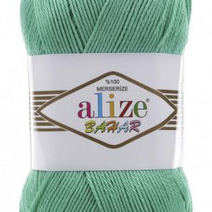 Fir de tricotat sau crosetat - Fir BUMBAC 100% ALIZE BAHAR TURQUAZ 610
