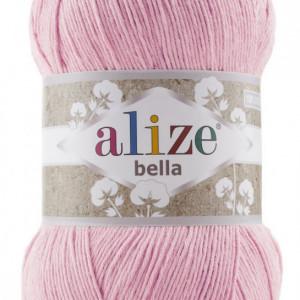 Fir de tricotat sau crosetat - Fir BUMBAC 100% ALIZE BELLA 100 - ROZ 32