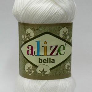 Fir de tricotat sau crosetat - Fir BUMBAC 100% ALIZE BELLA - ALB 55