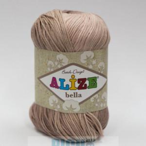 Fir de tricotat sau crosetat - Fir BUMBAC 100% ALIZE BELLA BATIK 1815