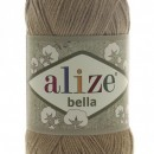 Fir de tricotat sau crosetat - Fir BUMBAC 100% ALIZE BELLA - BEJ 466