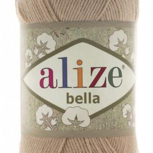 Fir de tricotat sau crosetat - Fir BUMBAC 100% ALIZE BELLA - BEJ 76