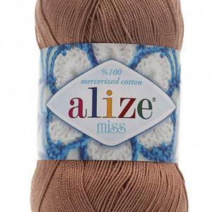 Fir de tricotat sau crosetat - Fir BUMBAC 100% ALIZE MISS BEJ 494