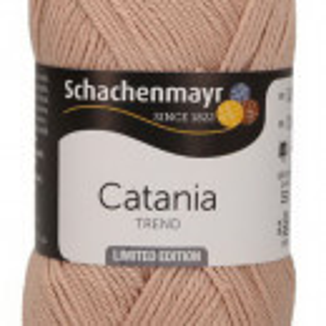 Fir de tricotat sau crosetat - Fir BUMBAC 100% MERCERIZAT CATANIA WARM NUDE COD 283