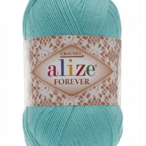 Fir de tricotat sau crosetat - Fir microfibra ALIZE FOREVER BLEO 376