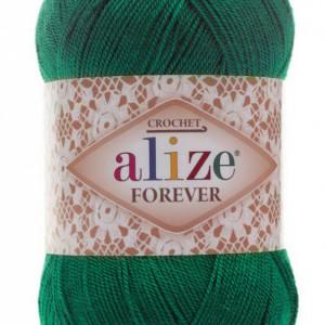 Fir de tricotat sau crosetat - Fir microfibra ALIZE FOREVER VERDE 148