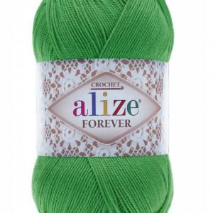 Fir de tricotat sau crosetat - Fir microfibra ALIZE FOREVER VERDE 328