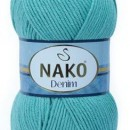 Fir de tricotat sau crosetat - FIR NAKO DENIM AZUR 11579