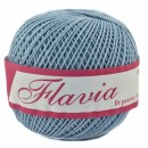Fir de tricotat sau crosetat - Fire Bumbac 100% FLAVIA ROMANOFIR BOBINA BLEO 1231