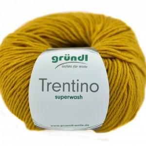 Fir de tricotat sau crosetat - Fire din lana 100% Grundl Trentino -GALBEN 06