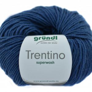 Fir de tricotat sau crosetat - Fire din lana 100% Grundl Trentino - ALBASTRU 04