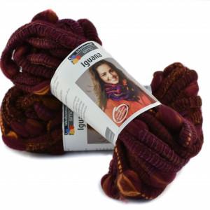 Fir de tricotat sau crosetat - Fire pretricotat esarfa COATS - IGUANA- DEGRADE 85