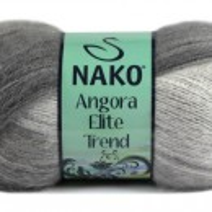 Fir de tricotat sau crosetat - Fire tip mohair acril NAKO ANGORA ELITE TREND 80807