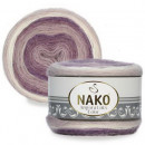 Fir de tricotat sau crosetat - Fire tip mohair acril NAKO ANGORA LUKS COLOR 82360