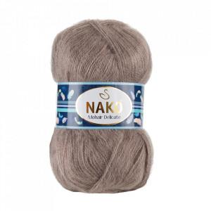 Fir de tricotat sau crosetat - Fire tip mohair acril NAKO MOHAIR DELICATE - BEJ COD 2000