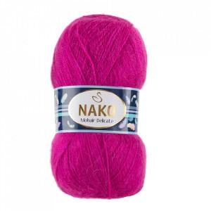 Fir de tricotat sau crosetat - Fire tip mohair acril NAKO MOHAIR DELICATE - ROZ COD 6141