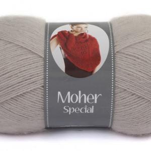 Fir de tricotat sau crosetat - Fire tip mohair acril NAKO MOHER SPECIAL BEJ 3079