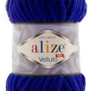 Fir de tricotat sau crosetat - Fire tip mohair din acril ALIZE VELLUTO BLEOMARIN 360