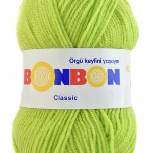 Fir de tricotat sau crosetat - Fire tip mohair din acril BONBON CLASIC VERNIL 98228