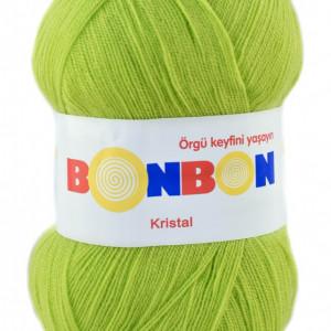 Fir de tricotat sau crosetat - Fire tip mohair din acril BONBON KRISTAL VERNIL 98228