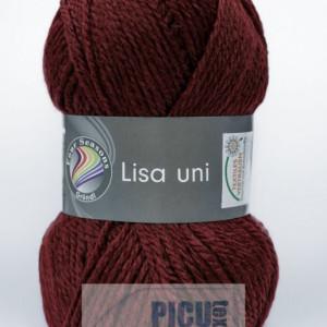 Fir de tricotat sau crosetat - Fire tip mohair din acril GRUNDL LISA UNI GRENA 13