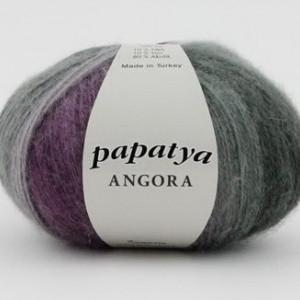 Fir de tricotat sau crosetat - Fire tip mohair din acril Kamgarn Papatya Angora degrade 22