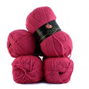 Fir de tricotat sau crosetat - Fire tip mohair din acril Nako Export - #7224 - ROZ