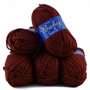 Fir de tricotat sau crosetat - Fire tip mohair din acril Nako Export - #8021-GRENA