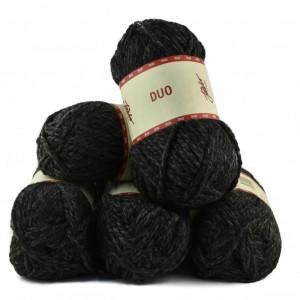 Fir de tricotat sau crosetat - Fire tip mohair din acril Nako Export - #8031-DEGRADE