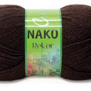 Fir de tricotat sau crosetat - Fire tip mohair din acril premium Nako REKOR MARO 1182