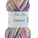 Fir de tricotat sau crosetat - Fire tip mohair din poliester Filo Blu - Colourful - 01 DEGRADE