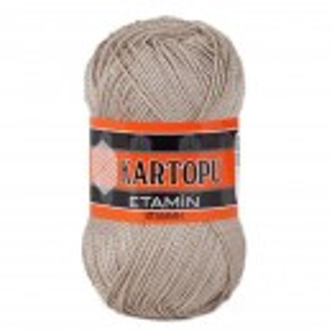 Fir de tricotat,brodat sau crosetat - Fir KARTOPU ETAMIN BEJ 855
