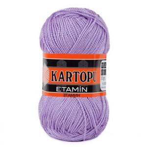 Fir de tricotat,brodat sau crosetat - Fir KARTOPU ETAMIN LILA 708