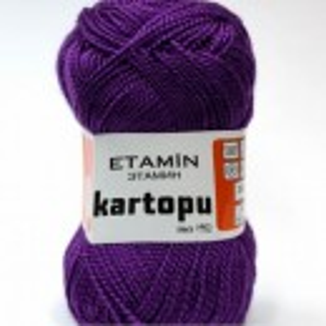 Fir de tricotat,brodat sau crosetat - Fir KARTOPU ETAMIN MOV - 721