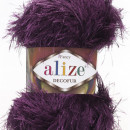 Fir de tricotat sau crosetat - FANCY - ALIZE DECOFUR MOV 304