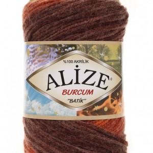 Fir de tricotat sau crosetat - Fir ACRILIC ALIZE BURCUM BATIK DEGRADE 6098