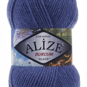 Fir de tricotat sau crosetat - Fir ACRILIC ALIZE BURCUM KLASIK ALBASTRU 353