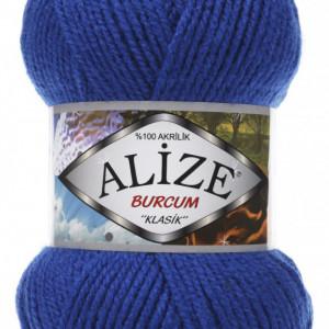 Fir de tricotat sau crosetat - Fir ACRILIC ALIZE BURCUM KLASIK ALBASTRU 141