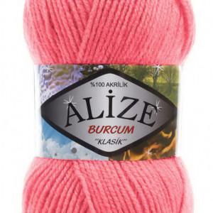 Fir de tricotat sau crosetat - Fir ACRILIC ALIZE BURCUM KLASIK ROZ 170