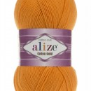 Fir de tricotat sau crosetat - Fir ALIZE COTTON GOLD PORTOCALIU 83