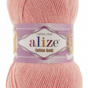 Fir de tricotat sau crosetat - Fir ALIZE COTTON GOLD PUDRA 460