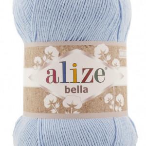 Fir de tricotat sau crosetat - Fir BUMBAC 100% ALIZE BELLA 100 - BLEO 40