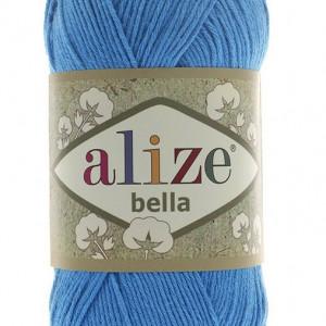 Fir de tricotat sau crosetat - Fir BUMBAC 100% ALIZE BELLA - BLEO 387