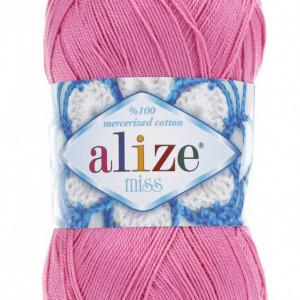 Fir de tricotat sau crosetat - Fir BUMBAC 100% ALIZE MISS ROZ 264