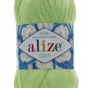 Fir de tricotat sau crosetat - Fir BUMBAC 100% ALIZE MISS VERNIL 478