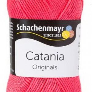 Fir de tricotat sau crosetat - Fir BUMBAC 100% MERCERIZAT CATANIA HIMBEER 256
